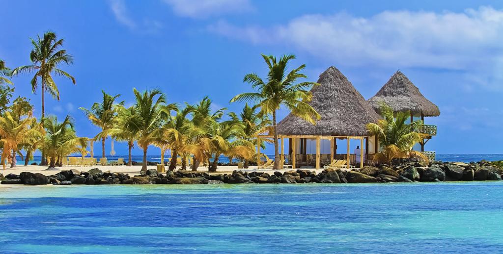 Punta Cana in Dominican Republic beaches and jungle