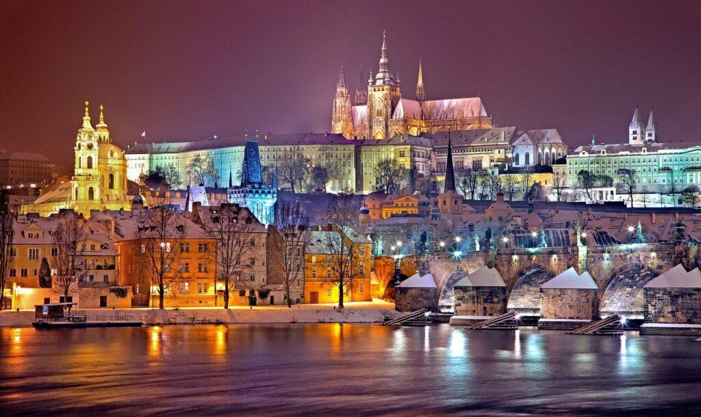 Prague Castle Winter
