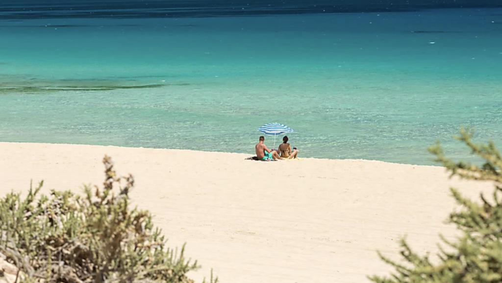 El Cotillo beach is a surfers paradise, Fuerteventura