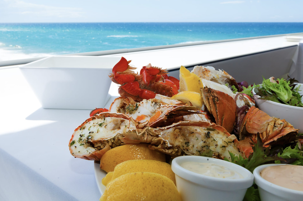Seafood is best enjoyed on a beach in Punta Cana