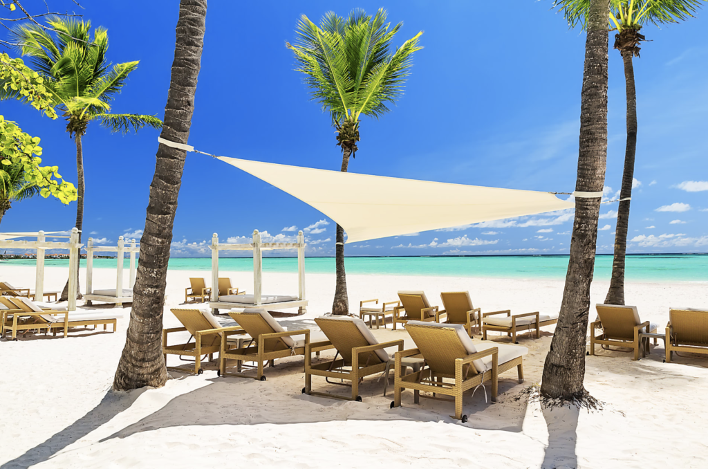 Enjoy the secluded paradise on the beach of Punta Cana