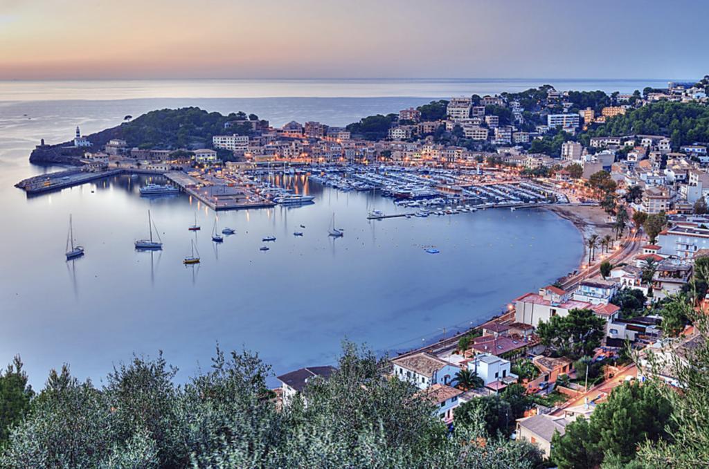 Enjoy an evening stroll around Port de Soller, Majorca