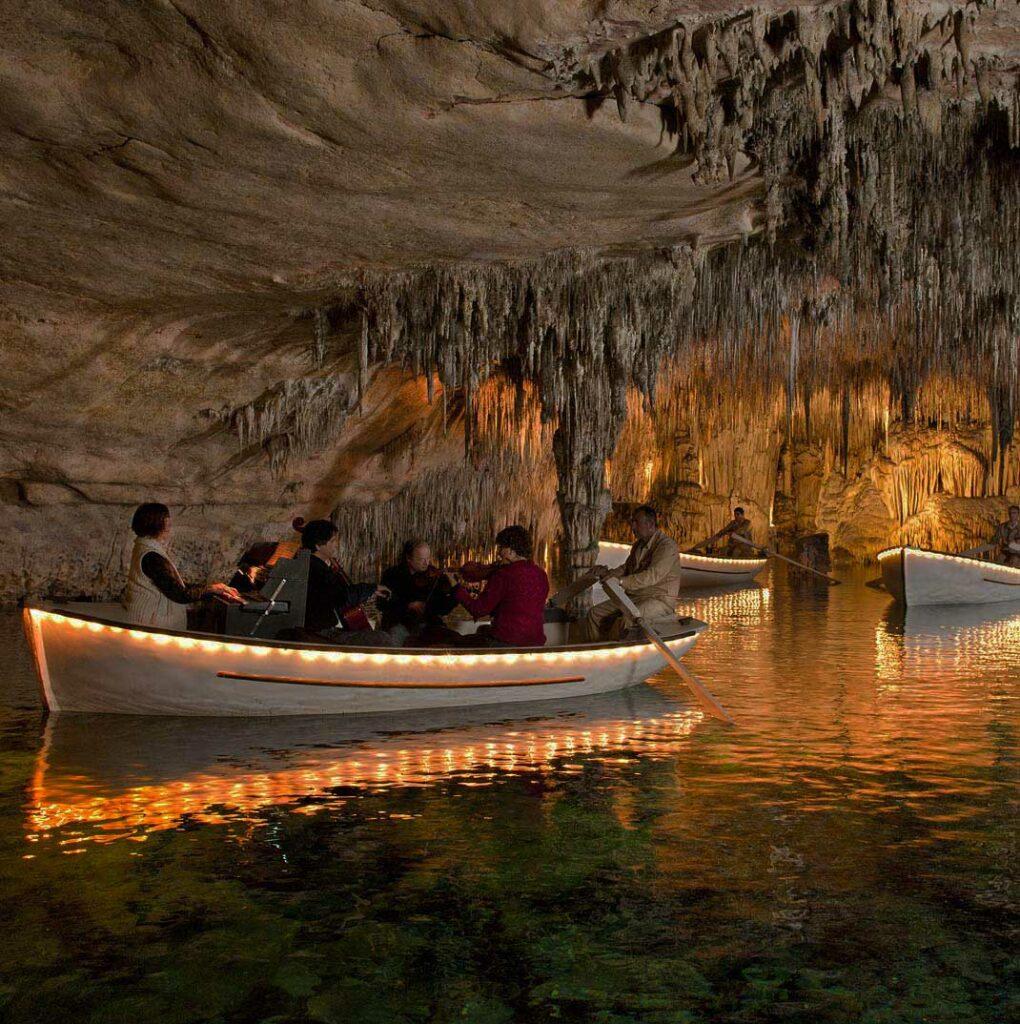 Dragon Caves (locally known as Cuevas del Drach)