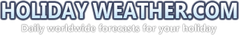 Holiday Weather logo