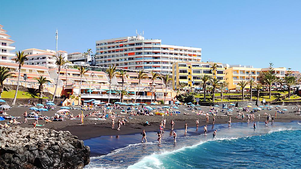 Tenerife Black Sand Beaches